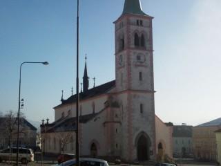 Ochrana proti drobnému ptactvu kostel v Kašperských Horách
