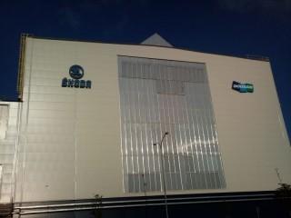 Ochrana oken proti vletu holubů Škoda Doosan