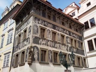 Ochrana proti holubům Staroměstská radnice-U Minuty
