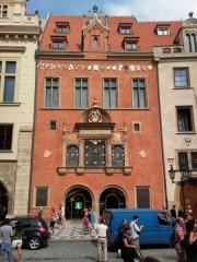 Ochrana proti holubům Staroměstská radnice-Nový trakt