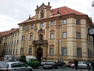 Ochrana proti holubům Klementinum Praha