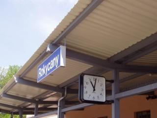 Ochrana proti holubům žel.stanice Rokycany