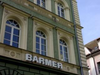 Ochrana proti holubům Barmer Regensburg