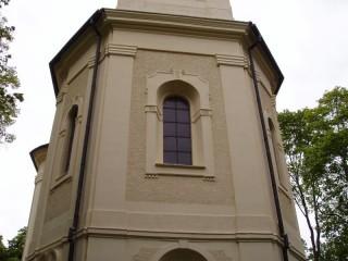 Ochrana proti holubům kostel Planá u Mariánských lázní