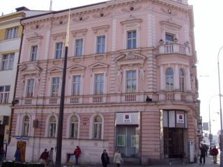 Ochrana proti holubům Komerční banka Plzeň