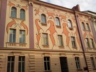 Ochrana proti holubům ČD Skrétova ul. Plzeň