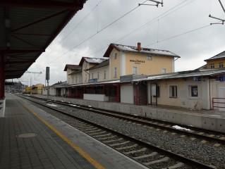 Ochrana proti holubům nádraží Horažďovice