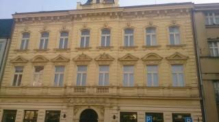 Ochrana fasády proti holubům Msgr.Staška,Domažlice
