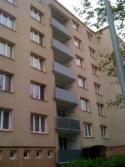 Ochrana lodžií proti holubům Seidlova ul.,Praha
